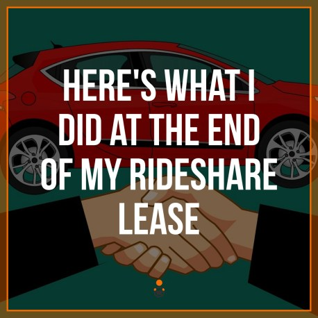 rideshare lease