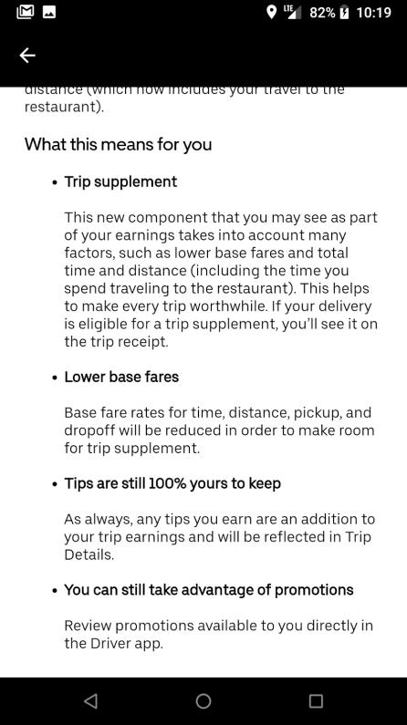 uber eats best delivery service