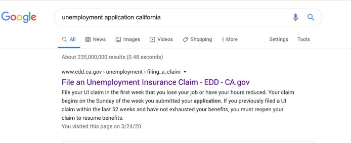 uber driver unemployment