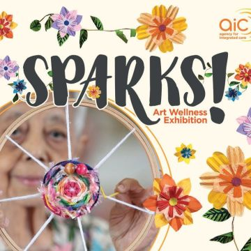 SPARKS – Inaugural Art Wellness Exhibition by AIC