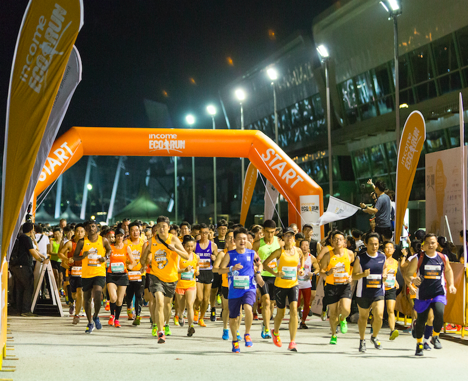 Zero Waste runners increased over 30% compared to 2017 at Southeast Asia's Premier Eco Race