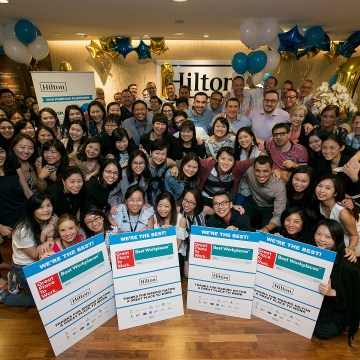 Hilton Named Asia's Best Multinational Workplace