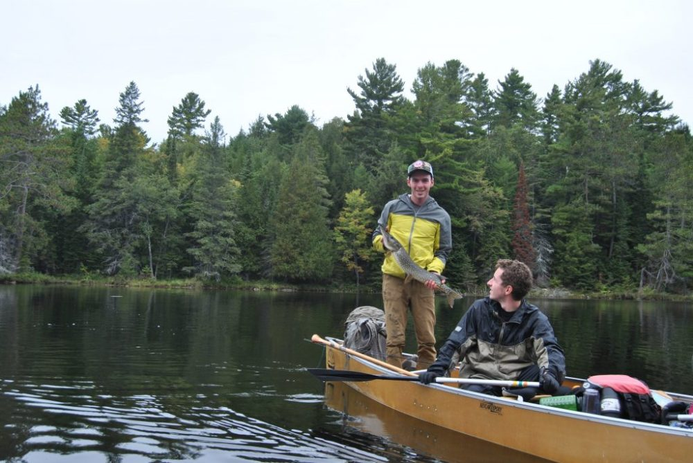 4 days in Killarney provincial park - fishing for pike