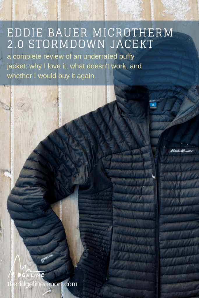 Eddie Bauer Microtherm 2.0 Stormdown Jacket Review: an unbiased and thorough review of a lightweight, packable, incredibly warm, and stylish down jacket