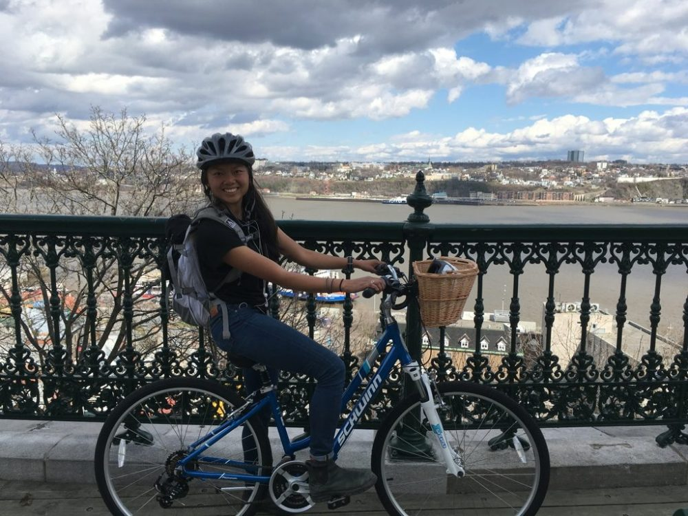 UNIQLO versatility, style, and crossover: biking trails to conference in Quebec City
