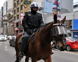 Mounted Police Wear Them