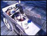 dock cart rigger at work