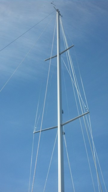 A New Selden Mast, New Harken Furler, New Selden Boom w/ T.R.C. Single Line Reef and Internal Outhaul System, All New Standing Rigging (converted to discontinuous/linked style), New Halayard Package, All New Electrical, New Selden Deck Ring, New Selden Mast Step.......the WORKS! Yamaha 36
