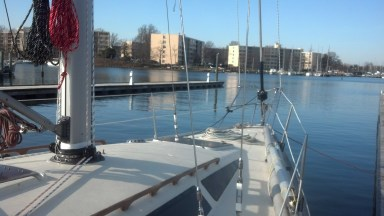 A New Selden Mast, New Harken Furler, New Selden Boom w/ Single Line Reef and Internal Outhaul System, All New Standing Rigging (converted to discontinuous/linked style), New Halyard Package, All New Electrical, New Selden Deck Ring, New Selden Mast Step.......the WORKS! Yamaha 36