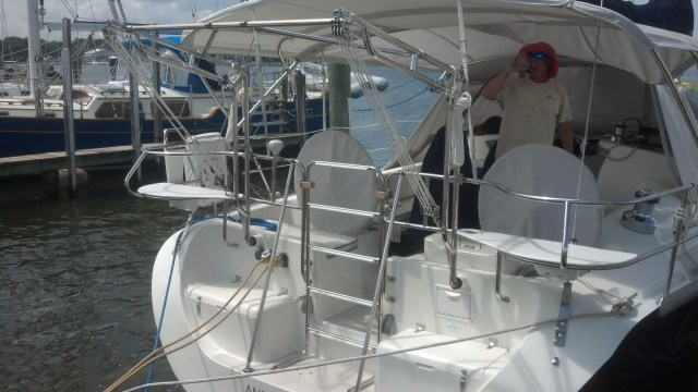 Brand New Dinghy Davits! Catalina 400