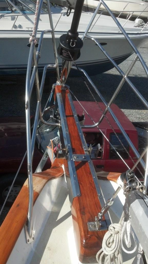 A Brand New Harken MKIV Headsail Furler. Cabo Rico 38