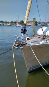 Delphia Yachts 40 with harken systems upgrade