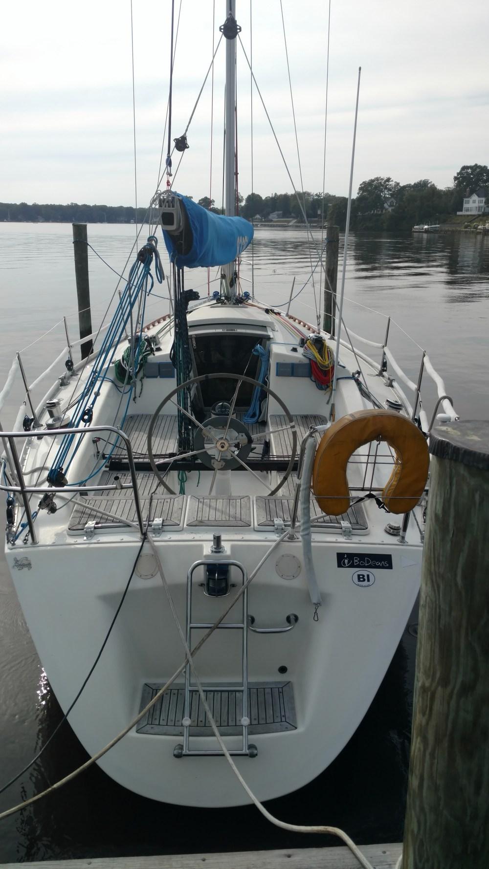 Omega 36 sailboat