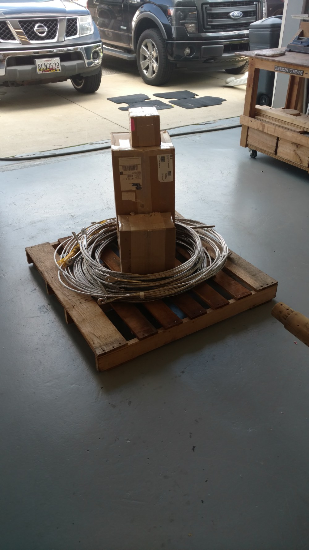 Mail order standing rigging. We'll ship you your brand standing rigging spraeders. Morgan OI 41