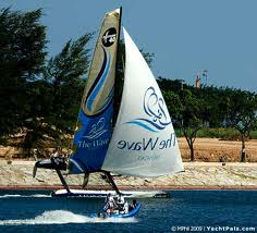 Extreme 40 sailing