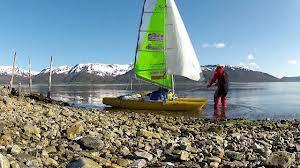 Nordkapp to Stockholm Inflatable catamaran