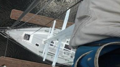 Frers 38 aloft