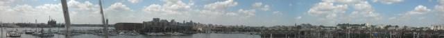 Baltimore Sky line from aloft
