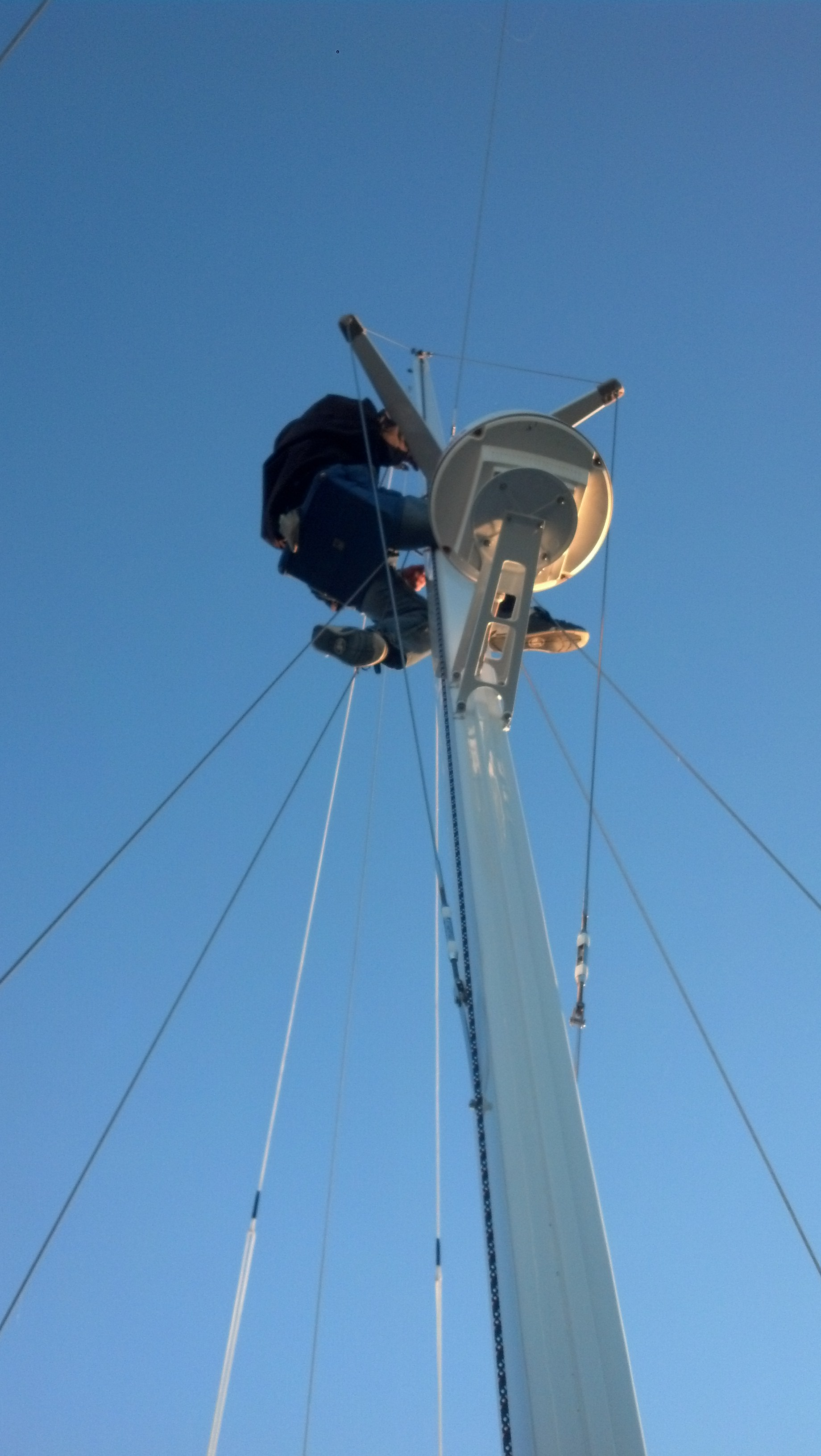 Going Aloft Like the Pros – The Rigging Company