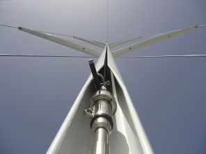 In mast furler by Hood at The Rigging Company. IN mast mainsail furler