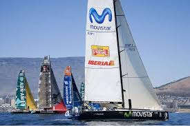 movistar sinks Volvo Ocean race