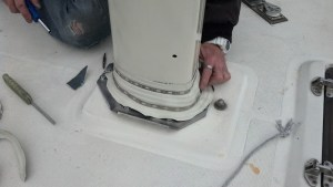 How to install a proper mast boot.