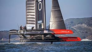 Oracle AC 45 Foiling in the SF Bay