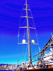 rod rigging beautiful picture mast stepping