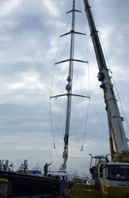 how tto step a mast, the rigging company, americas best