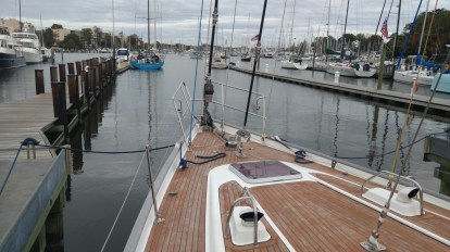 Oyster 56 new standing running rigging and re-finish
