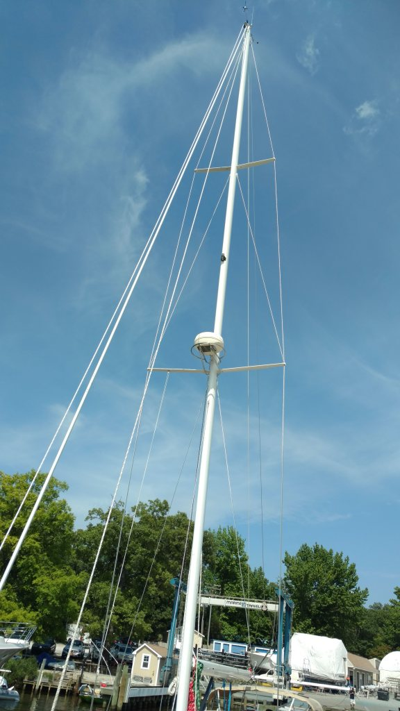 Tartan Yachts 3800 all finished up. The Rigging Company. Port Annapolis