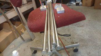 Ericson 32 Chainplate tie down rods.