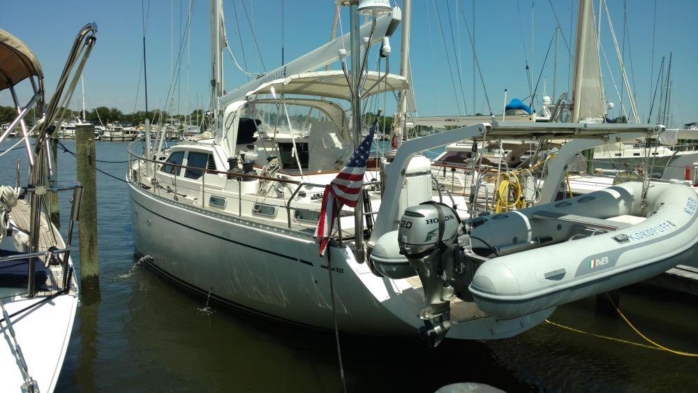 All new running rigging. Nauticat 515