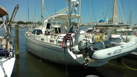 All new running rigging. Nauticat 515
