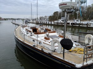 LITTLE HARBOR 54 REFIT AT THE RIGGING COMPANY