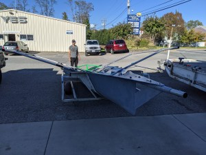 Aussie 18 Skiff Coming Together