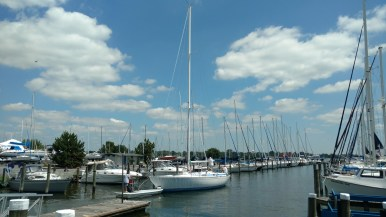 SWAN 431 After Stepping. Tidewater Havre De Grace...We Work Anywhere!