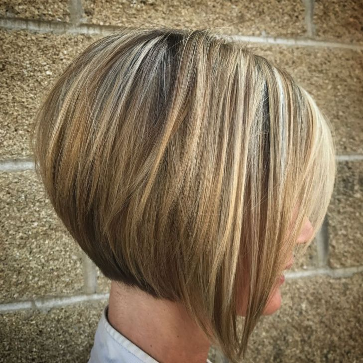 Short Rounded Bob With Long Front Pieces