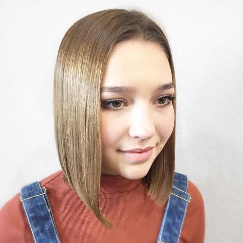 Long Bob For Round Faces