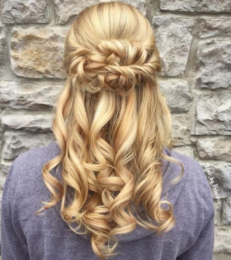20 Perfect Half Up Half Down Hairstyles: 50 Half Up Half Down Hairstyles For Everyday And Party Looks