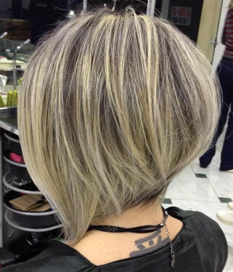 Collarbone Inverted Cool Bronde Bob