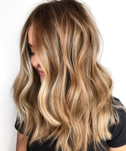 Nijansirana svetlo smeđa kosa