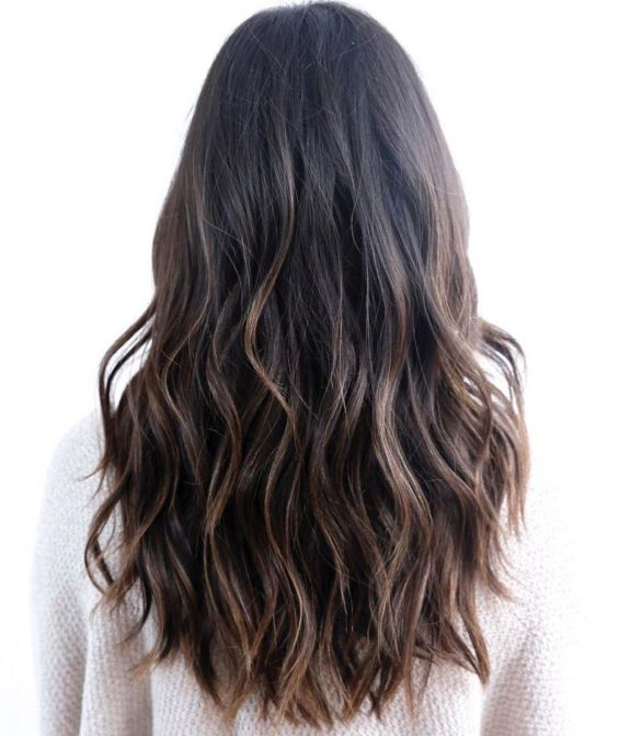 Long Hair with Subtle Layers, best layered haircuts 2021