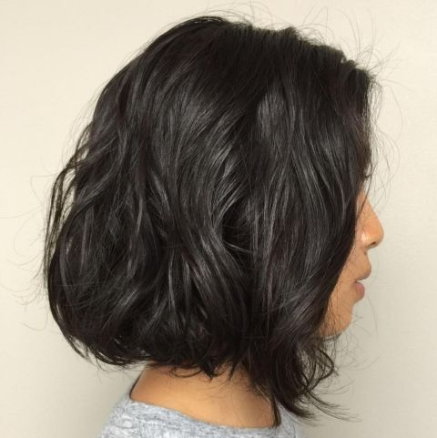 Very Loose Waves Perm Hairstyle