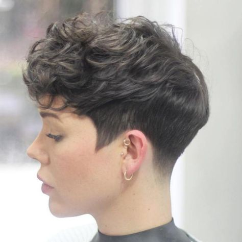 Tapered Pixie For Curly Hair