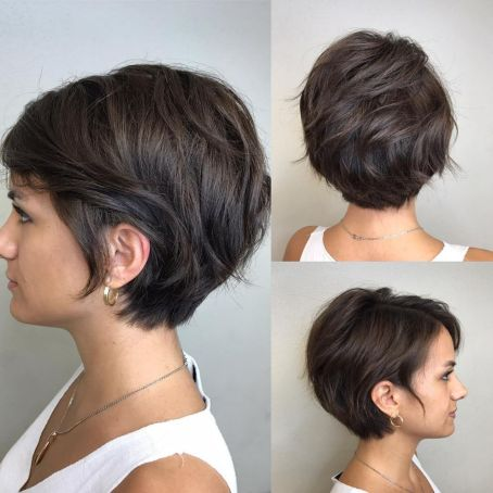 Cute Pixie With Layers And Sideburns