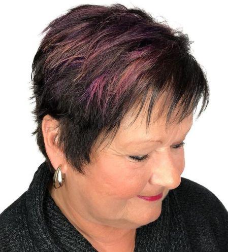 Razored Pixie Haircut Over 50