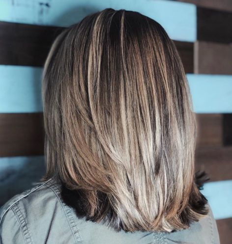 Medium Layered Haircut For Thick Straight Hair