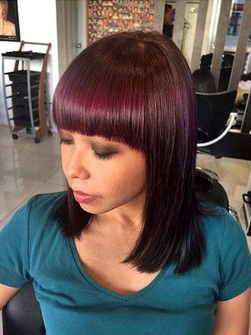 40 Universal Medium Length Haircuts With Bangs