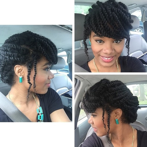 fancy braided updo hairstyle